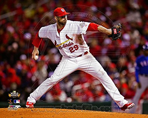 Chris Carpenter Game 1 of the 2011 World Series Action (#2) Photo 10 x 8in