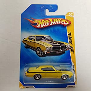 '70 Buick GSX Yellow Color Hot Wheels 2009 New Models 1/64 scale diecast car no. 007