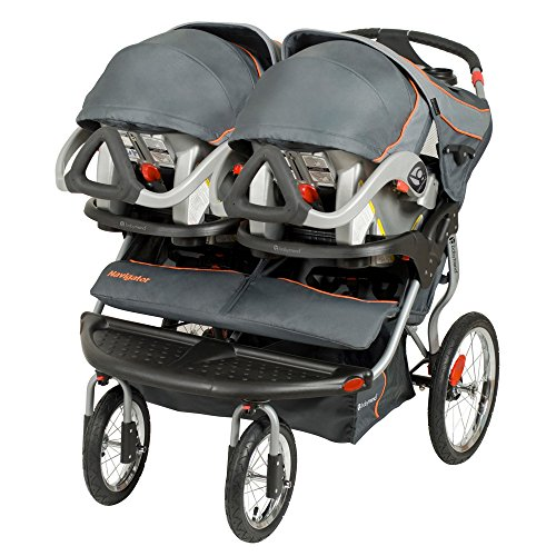 Baby Trend Navigator Double Jogger Stroller, Vanguard by Baby Trend (Image #1)
