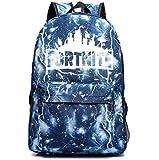 Fortnite battle royale backpack students School bag lightning black
