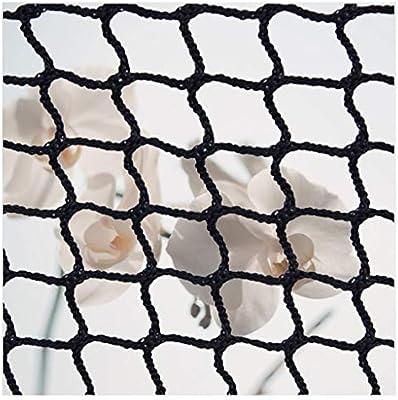 AEINNE Red Seguridad Balcones,Red Cuerda Negra Escalera Bebe de Terraza Seguridad Protecciones Niños Deportes Escaleras Protección Gatos para Malla Nylon Goal Net Redes Bola Campo FúTbol Golf Bola: Amazon.es: Hogar