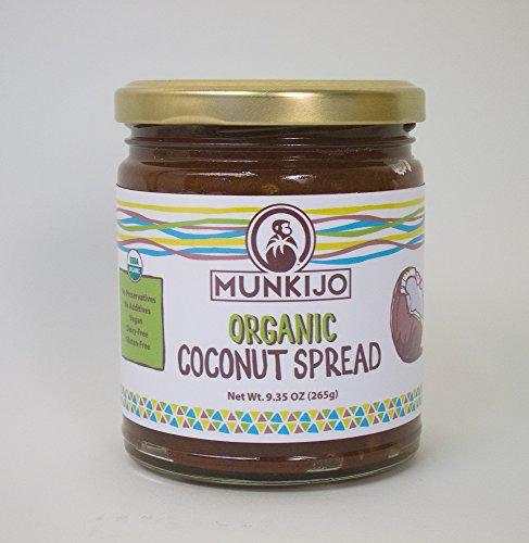 Coconut Spread - Munkijo Organic Coconut Spread 9.35 oz.