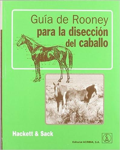 Descargar ebook gratis en pdf para Android Guía de Rooney para la disección del caballo 8420010391 in Spanish PDF