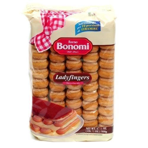 Forno Bonomi Savoiardi Ladyfingers 17 1/2 oz. package