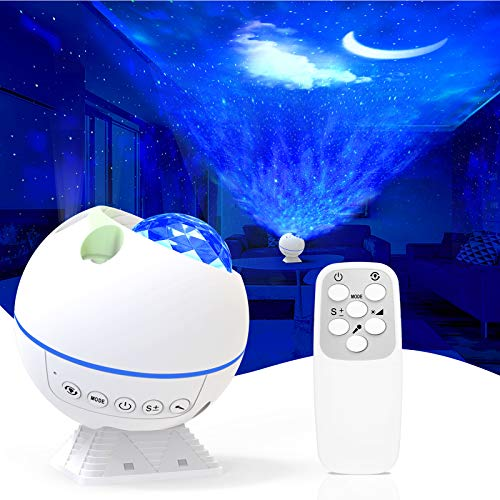 w-maxa Star Projector Night Light Projector Starlight Projector Galaxy Projector for Bedroom and Party Decoration