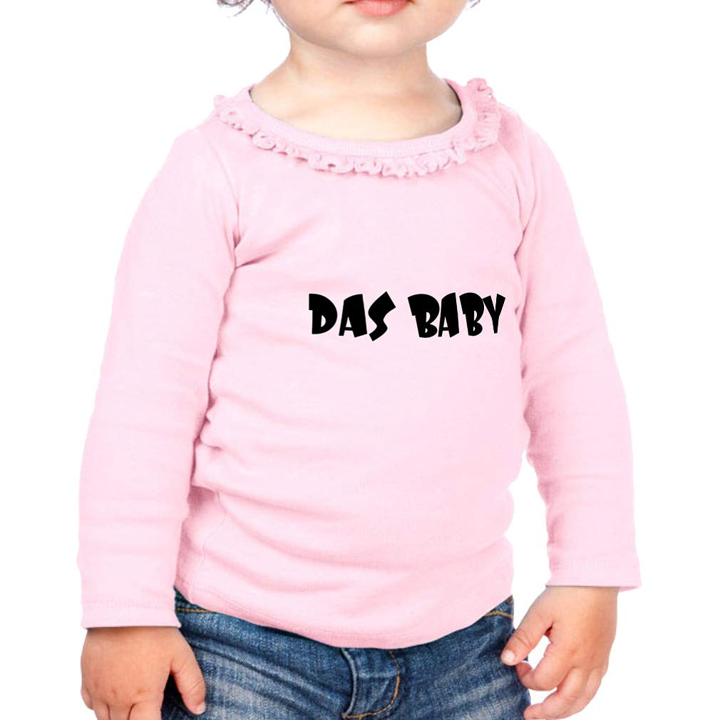 Das Baby Cotton Girl Toddler Long Sleeve Ruffle Shirt Top Sunflower