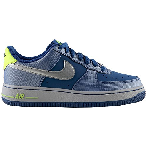 Grey Youths Air Force 1 Blue Nike Blue Trainers Grey p8qA1Ww