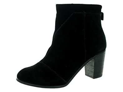 Women's Black suede Lunata Boot 10006201