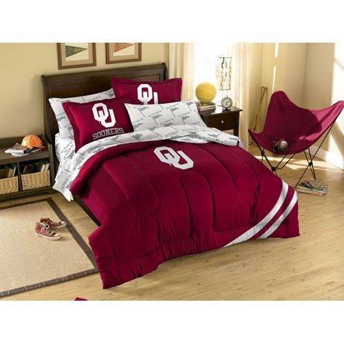 NCAA Oklahoma Sooners Twin Bedding Set
