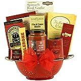 GreatArrivals Taste of Italy Gourmet Italian Gift Basket, 5 Pound