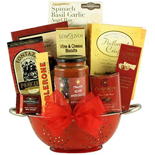 GreatArrivals Taste of Italy Gourmet Italian Gift Basket, 5 Pound by GreatArrivals Gift Baskets
