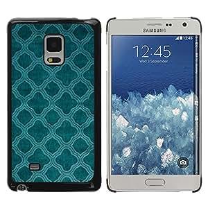 iKiki Tech / Estuche rígido - Teal Church Christian Pattern Indian - Samsung Galaxy Mega 5.8 9150 9152
