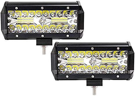 36W Arbeitsscheinwerfer LED Scheinwerfer Off-road Flutlicht ATV Bagger 12V 24V