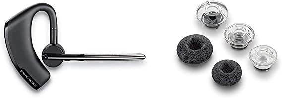 Amazon Com Plantronics Voyager Legend Wireless Bluetooth Headset Black Frustration Free Packaging Voyager Legend Eartip Kit Non Retail Packaging Small Black
