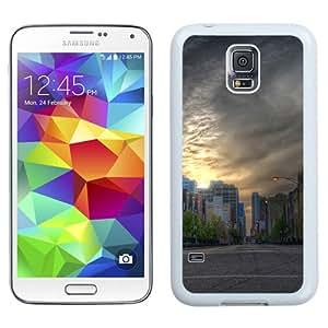 New Beautiful Custom Designed Cover Case For Samsung Galaxy S5 I9600 G900a G900v G900p G900t G900w With Street (2) Phone Case