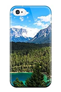Special Design Back Mountain Phone Case Cover For Iphone 4/4s