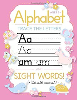 Amazon com: Trace Letters Of The Alphabet: Preschool