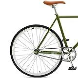 Critical Cycles 2852 Harper Single-Speed Fixed Gear Urban Commuter Bike; 57cm, Sage Green