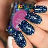Sapphire - glitter holographic nail polish by Cupcake Polish