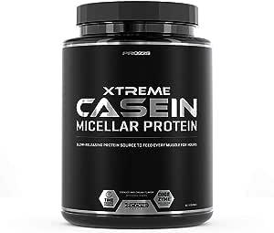 Prozis Xtreme Casein SS, Sabor Galletas y Crema - 2000 gr