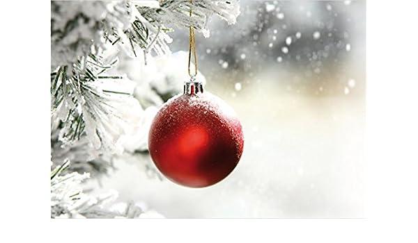 natural tarjeta de felicitación para Navidad deseos, Juego con sobres, B6 - Porto libre posible, personalizable, Horizontal 12,5 x 18,5 cm con parpadea ...