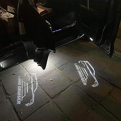 AniFM 2 Piezas de Puerta de Coche Bienvenido LED Proyector Láser ...