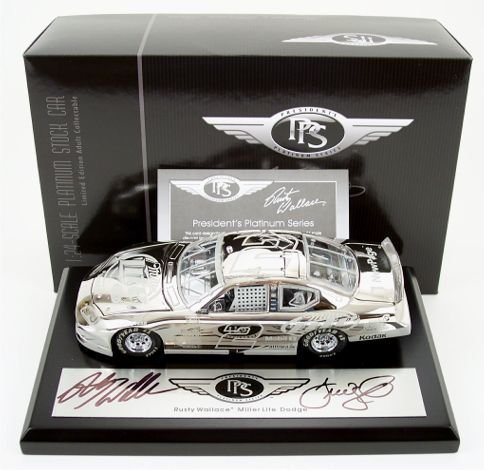 - Rusty Wallace 1/24 2005 Action #2 President's Platinum Series/Miller Light Dodge Autographed Dealer Exclusive! by NASCAR