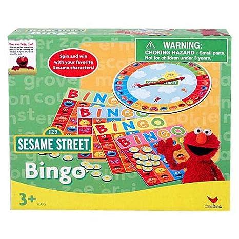 Amazon Sesame Street Bingo Game Set Toys Games