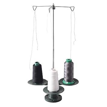 honeysew 3-spool hilo soporte para todos los Industrial y Doméstico Máquina de coser: Amazon.es: Hogar