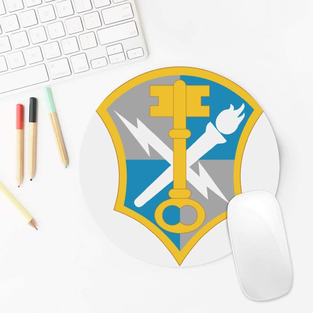 US Army Military Intelligence Corps Insignia Mouse Pad Gaming Mouse Pad Laptop Mouse-Pads Waterproof Office Mouse Pad