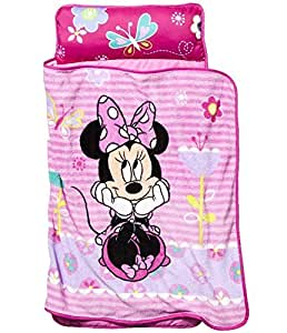 Amazon Com Disney Minnie Mouse Toddler Nap Mat Baby