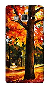 WOW Printed Designer Mobile Case Back Cover For Samsung Z3