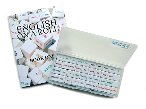 English on a Roll - English Grammar Teaching Method - Instructor's Manual and 1 Game Cube Set for up to 6 Students (Parts Of Speech Worksheets For Esl Students)