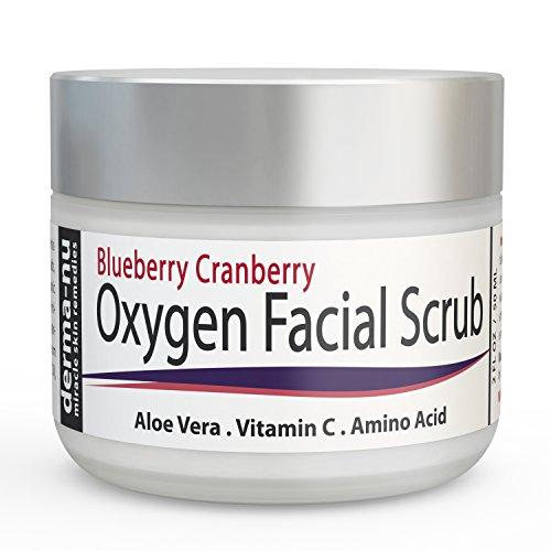 Facial Scrub Blueberry Cranberry Exfoliating