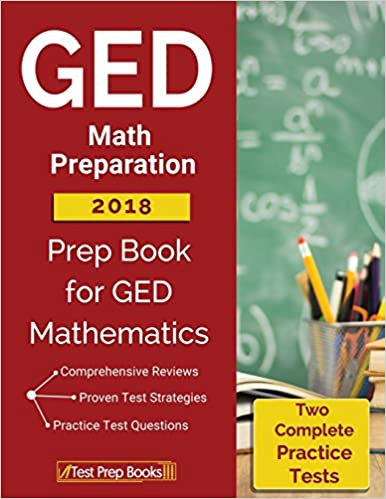 graphic regarding Printable Ged Study Guides called GED Math Planning 2018: Prep E-book 2 Comprehensive Train