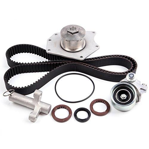 - SCITOO Timing Belt Kit + Water Pump Fits 98-04 Chrysler LHS 300M Dodge 3.2L 3.5L SOHC