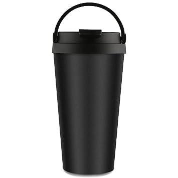 Taza de café del acero inoxidable, tazas del viaje del café ...