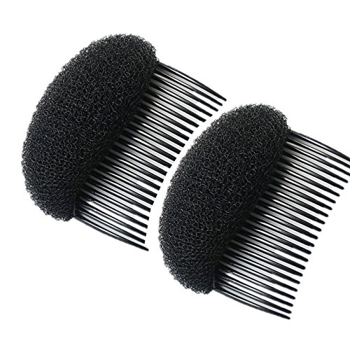 AnHua2PCS Charming BUMP IT UP Volume Inserts Do Beehive Hair Styler Insert Tool Hair Comb BlackBrown Colors For Choose Hot