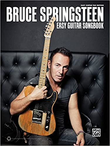 Amazon.com: Bruce Springsteen Easy Guitar Songbook: Easy Guitar TAB ...