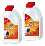 Summit Brands Glisten WM06N Washer Magic Washing Machine Cleaner for Traditional Top Loaders and High Efficiency (HE) Washing Machines, 24 fl. oz., 6 Pack