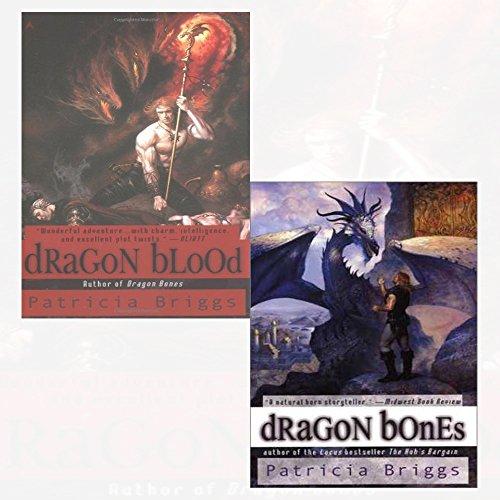 Hurog Duology Series Patricia Briggs 2 Books Collection Set (Dragon Blood,Dragon Bones)