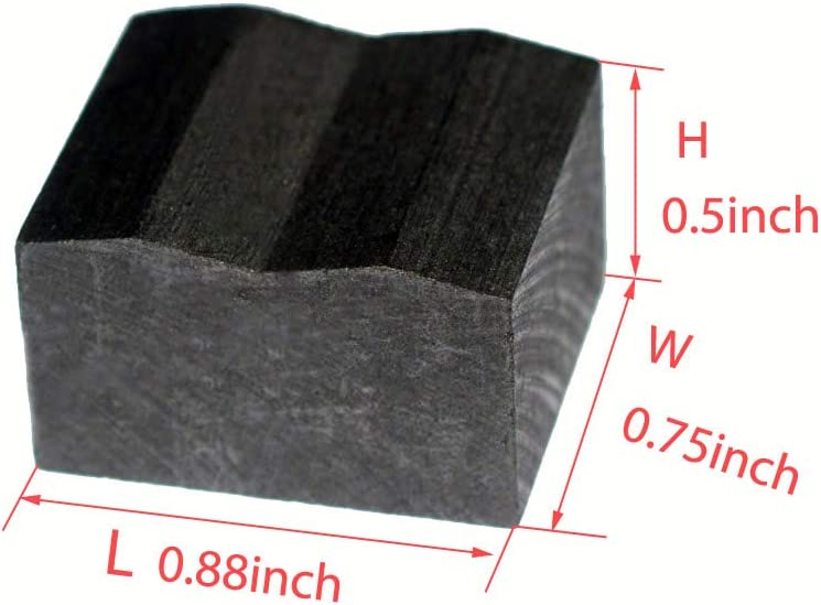 4pcs Hi-Fi Graphite Isolation Feet Vibration Isolation Block
