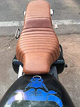 SaharaSeats Royal Enfield Bullet Electra//Standard 350//500 Seat Cover Original Type Tan