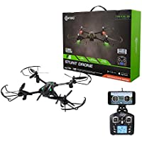 Fathers Day Deal! Contixo F6 RC Quadcopter Racing Drone 2.4Ghz 720P Rotating HD Video Camera Live FPV Headless Mode Up to 18min Fly Time Mobile App Altitude Hold VR Compatible - Best Gift