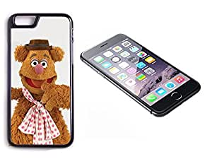 iPhone 6 Plus Black Plastic Hard Case with High Gloss Printed Insert The Muppets Fozzy Bear