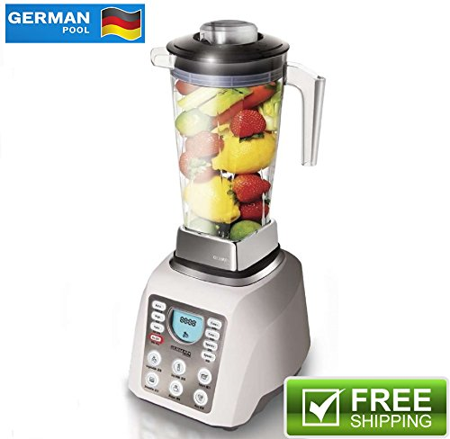 "German Pool® 120V Professional High-Speed Food Processor (PRO-6SSW) Bundled with ""High Fibre Cooking"" Cookbook Review"