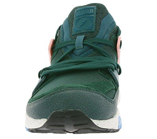 PUMA Blaze of Glory hombres la zapatilla de deporte verde 357476 01