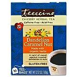 Teeccino - Dandelion Value Pack - Caramel Nut, Dark Roast, Mocha Mint, Turmeric, Red Chai, Coconut - 1 of each flavor, 2.12 oz