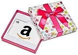 Amazon.ca $25 Gift Card in a Dot Box (Classic White Card Design)
