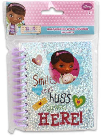 Doc McStuffins Fat Spiral Hologram Journal 48 pcs sku# 1859051MA